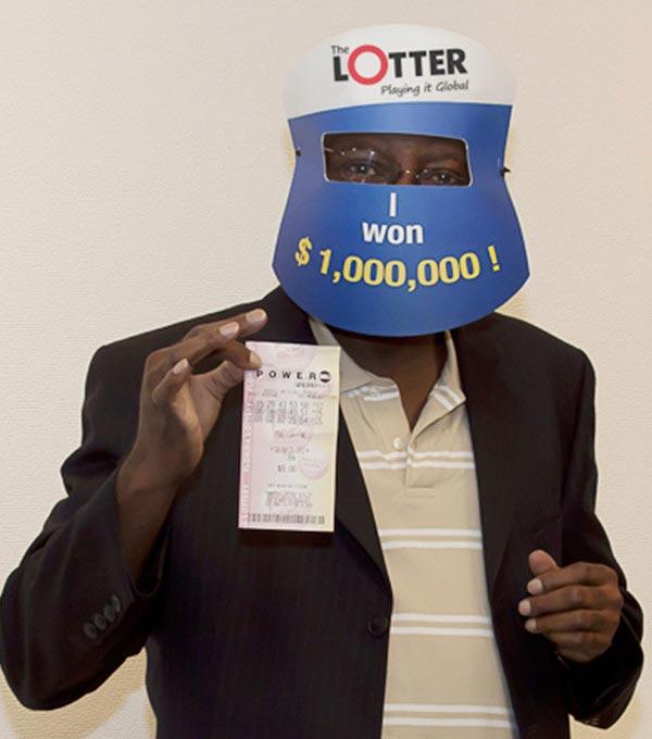 Spieler aus Großbritannien gewinnt 1$ Million in der USA Powerball Lotterie.