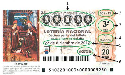 Zehntel-Los El Gordo