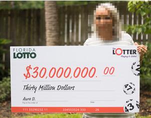 Panamaerin gewinnt 30$ Mio. im Florida Lotto